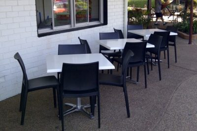 Takeaway Cafe Furniture Bargara QLD