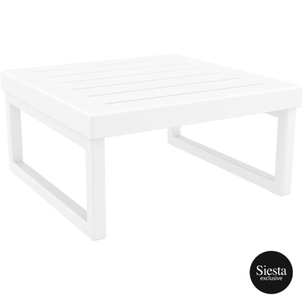 008 ml table white front side