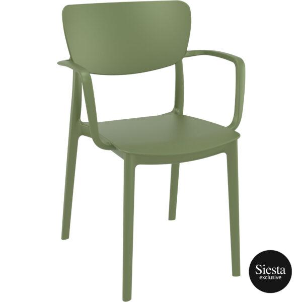 014 lisa olive green front side
