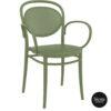 014 marcel xl olive green front side