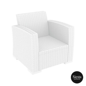 014 Ml Armchair White Front Side9q Xl7