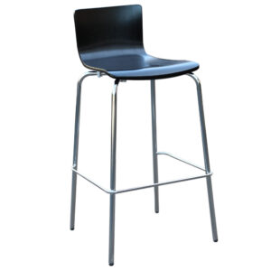 Avoca Barstool Black