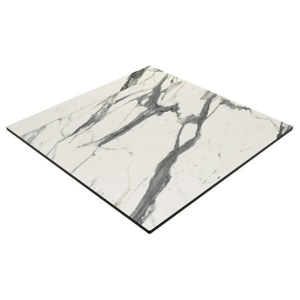 Compact Laminate Top Square Afyon Marble