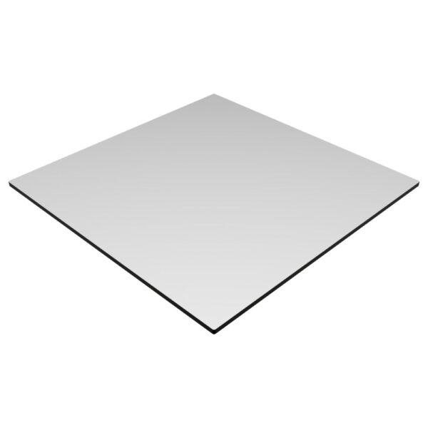 Compact Laminate Top Square White