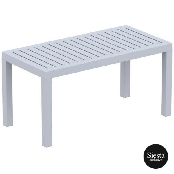 Ocean Table Silver Grey Wyzwdl