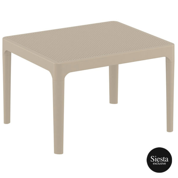 Sky Side Table - Taupe