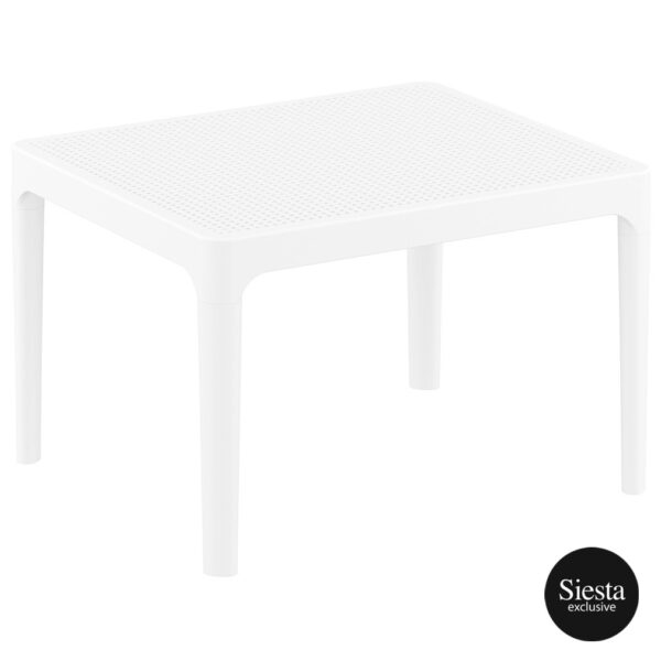 Sky Side Table - White