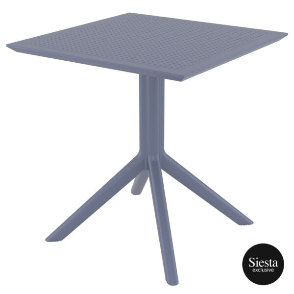 Sky Table 70 - Anthracite