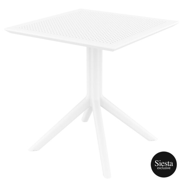 Sky Table 70 - White