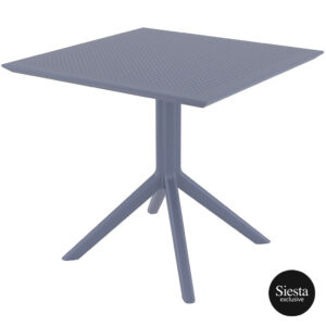 Sky Table 80 - Anthracite