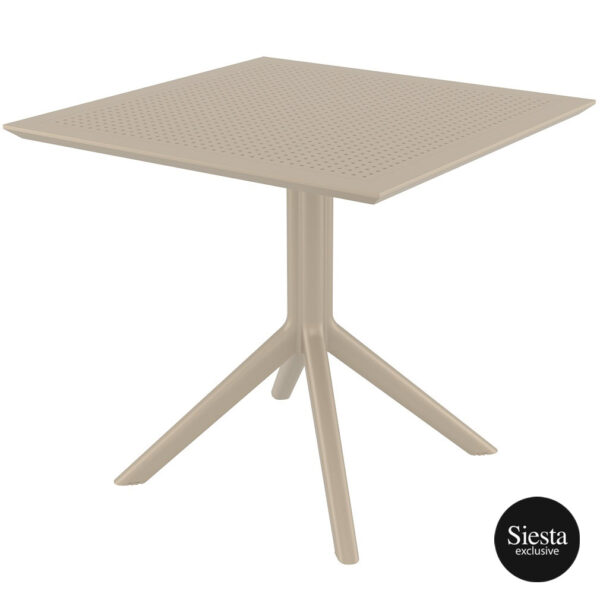 Sky Table 80 - Taupe