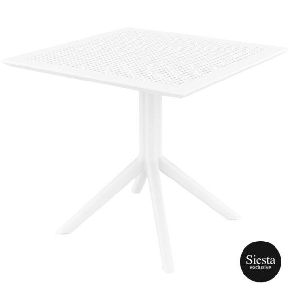Sky Table 80 - White
