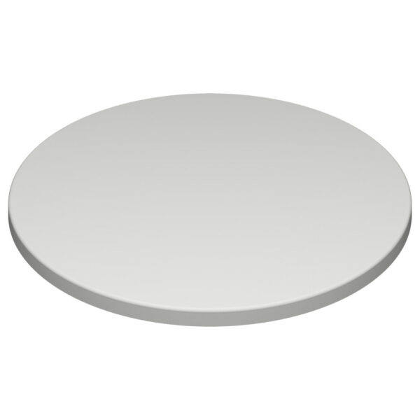 Werzalit By Gentas Round Table Top White