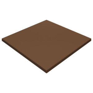 Werzalit By Gentas Square Table Top Chocolate