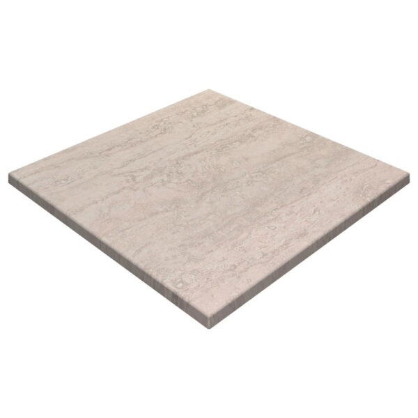 Werzalit By Gentas Square Table Top Travertine
