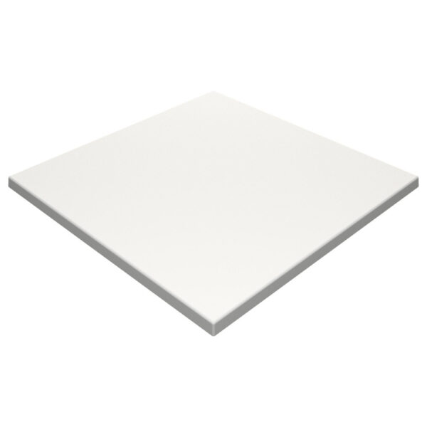 Werzalit By Gentas Square Table Top White