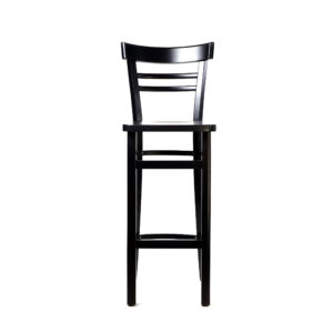 df vienna barstool – chocolate – timber seat x1