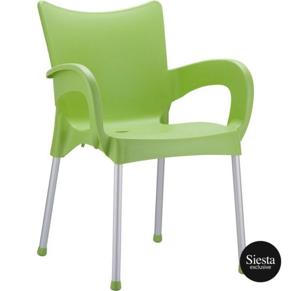 merit armchair green