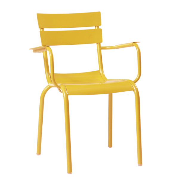 porto armchair yellow