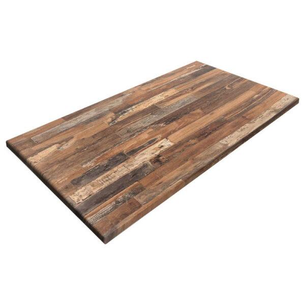 sm france rectangle table top maracaibo