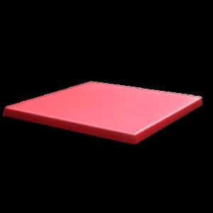 werzalit gentas duratop table top red