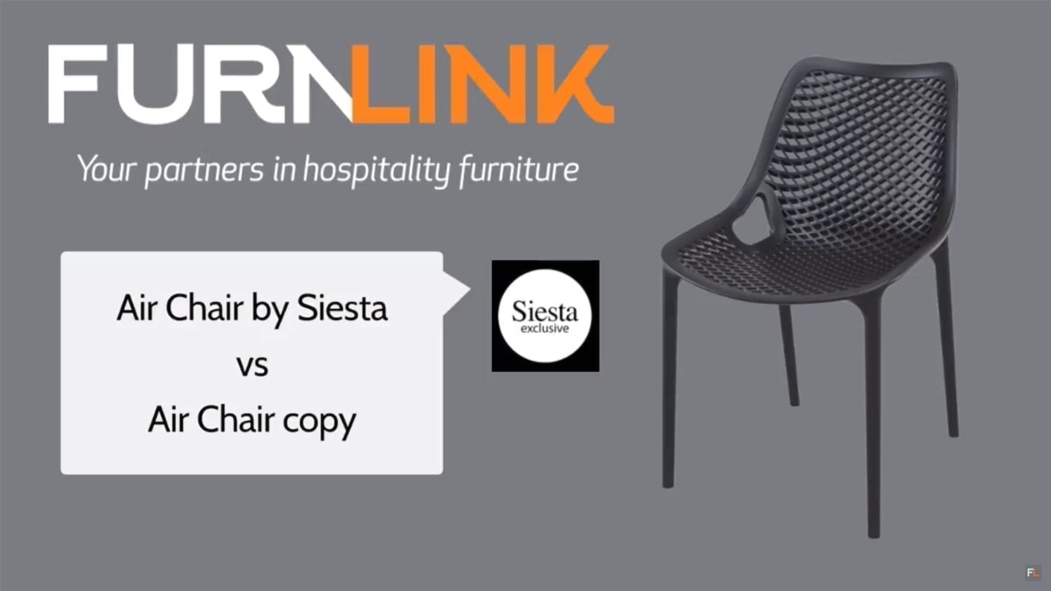 Siesta Air Chair vs Copy Air Chair