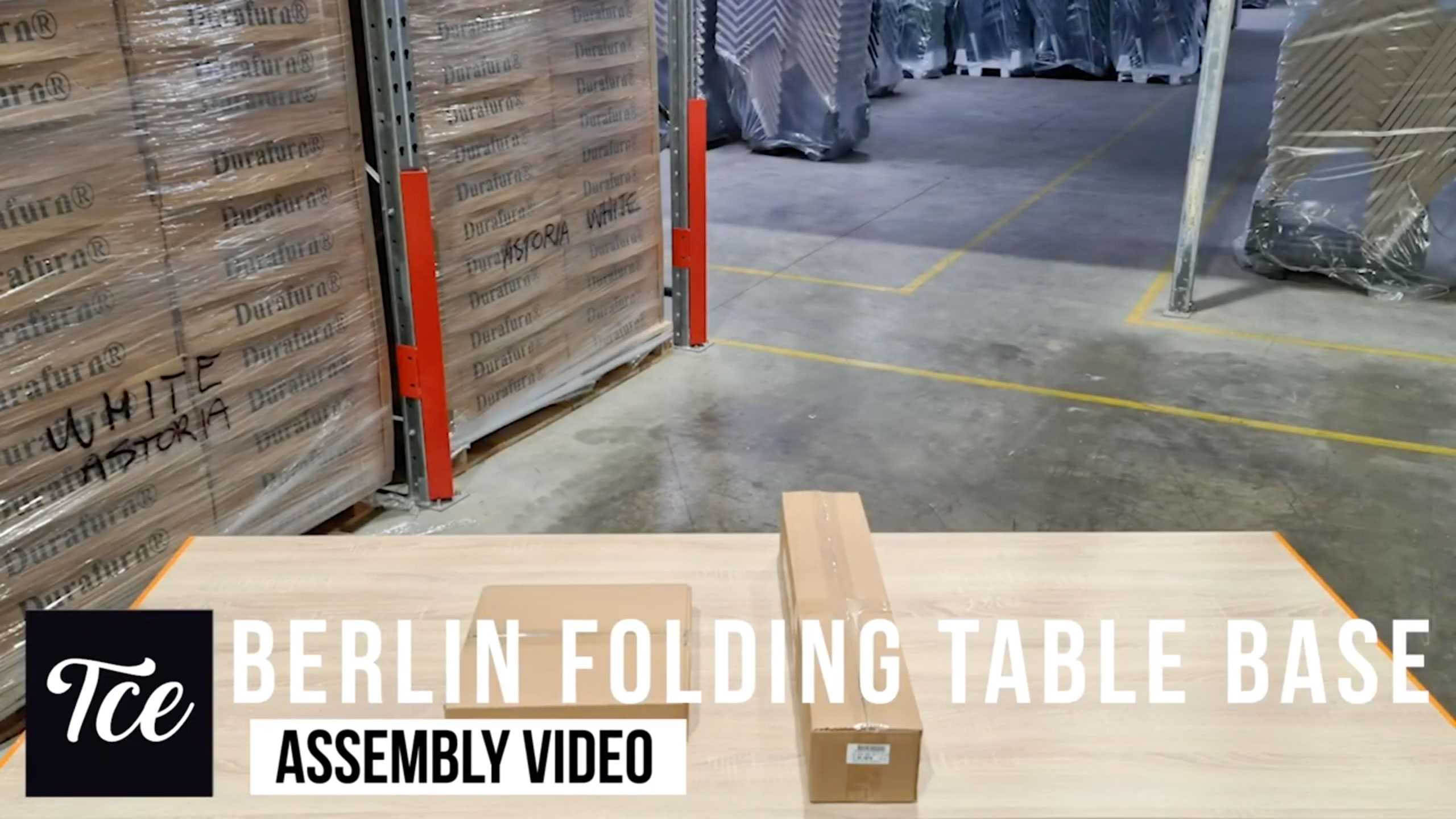 Assembly of the Berlin Folding Table Base