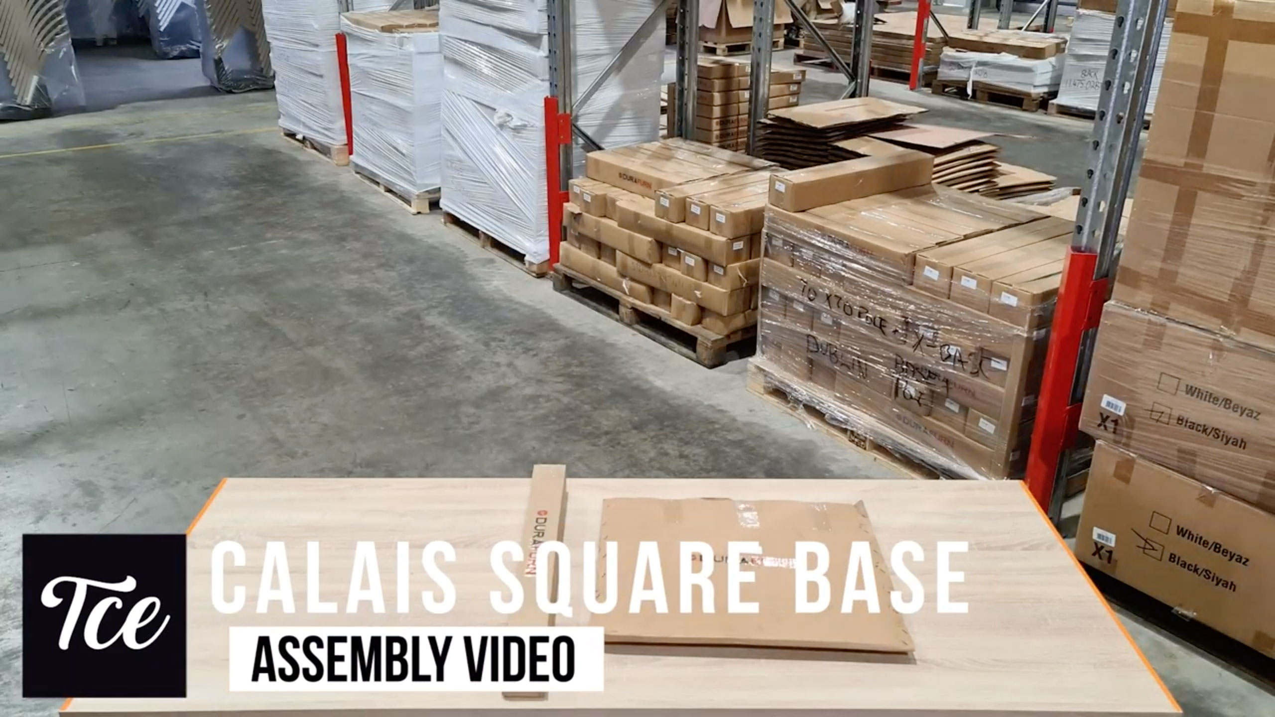 Assembly of the Calais Base