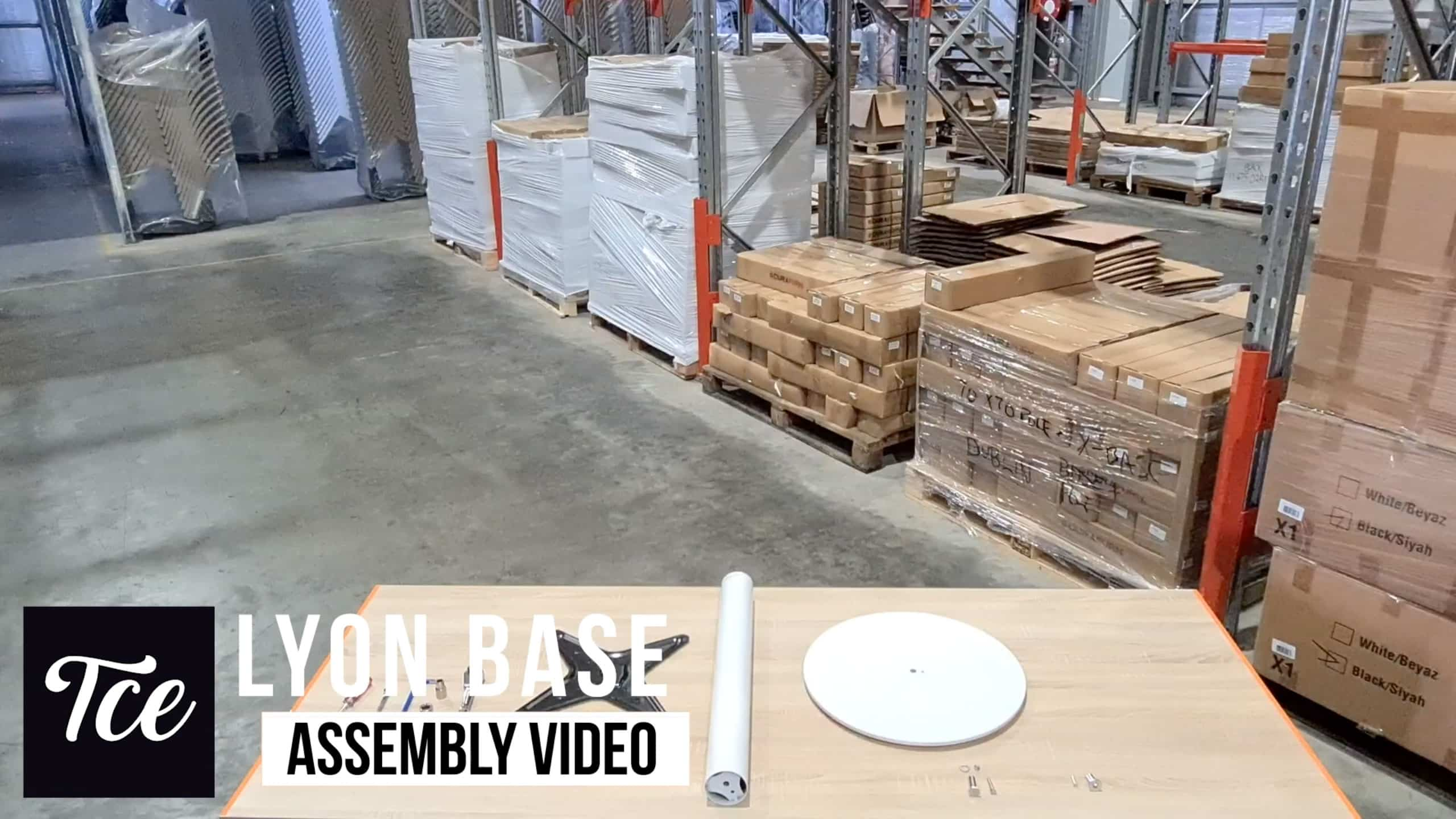 Assembly for the Lyon Base