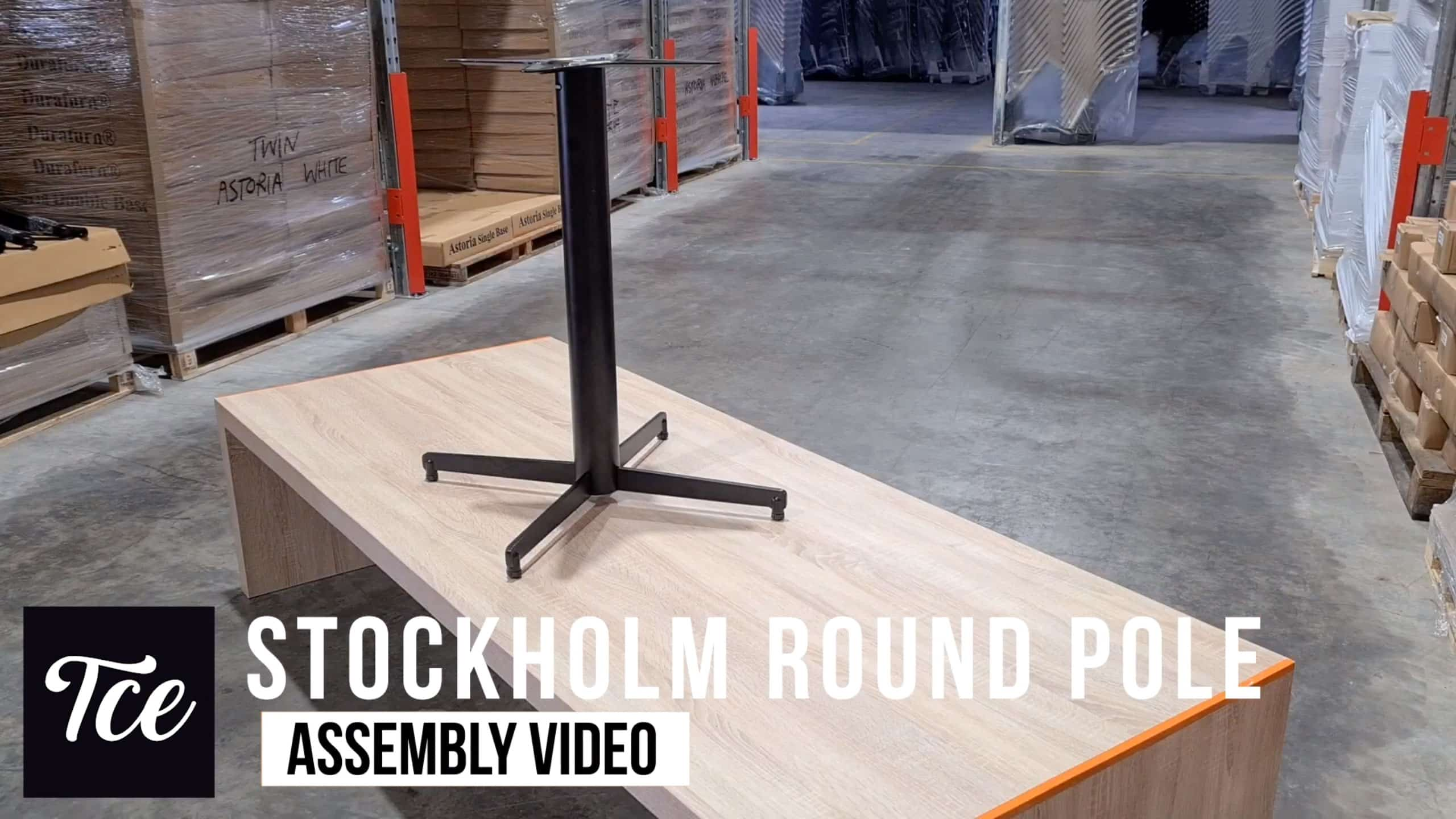 Assembly of the Stockholm Table Base