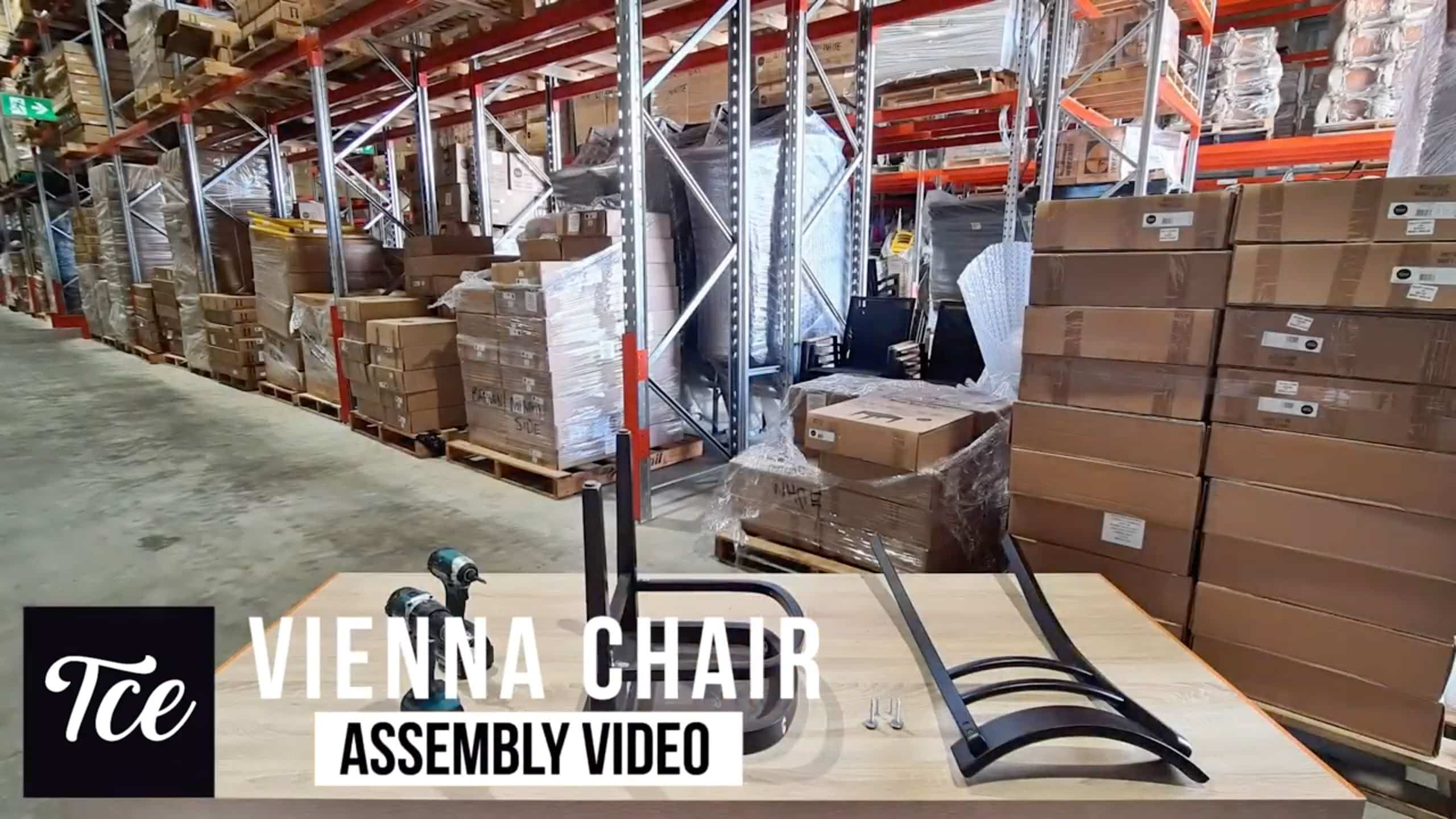 Assembly for the Vienna Chair
