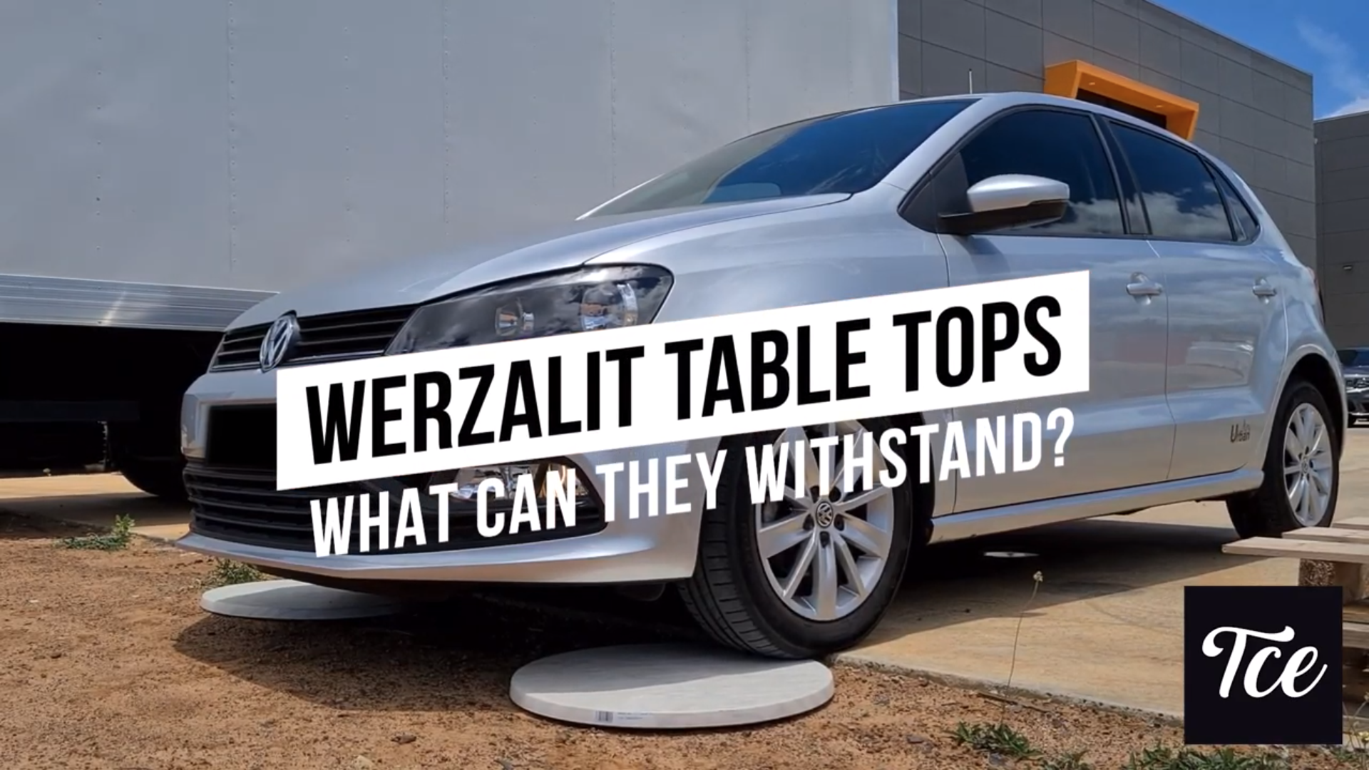 What can a Werzalit Table Top Withstand?